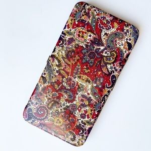 Paisley Spring Clasp Wallet (Unbranded)